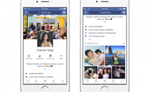 Facebook Revamped Profiles