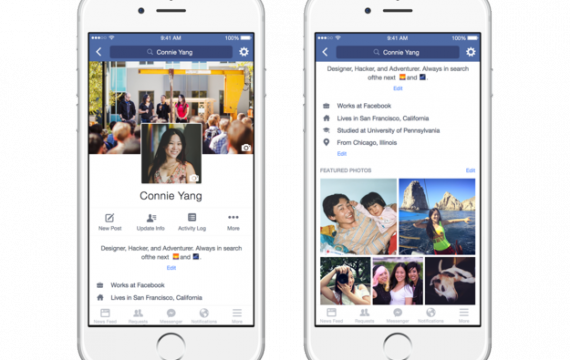 Facebook Revamped Profiles